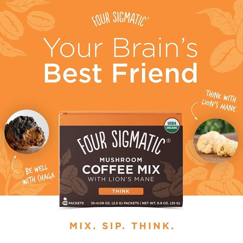 7. Mushroom Coffee by Four Sigmatic