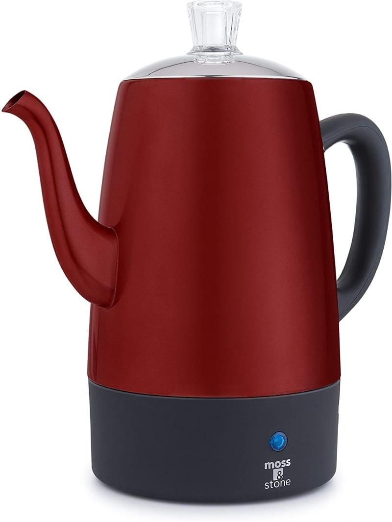 7. Moss & Stone Electric Coffee Percolator