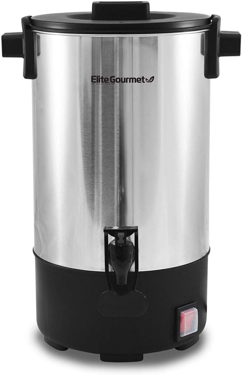8. Elite Gourmet Electric Coffee Maker Urn