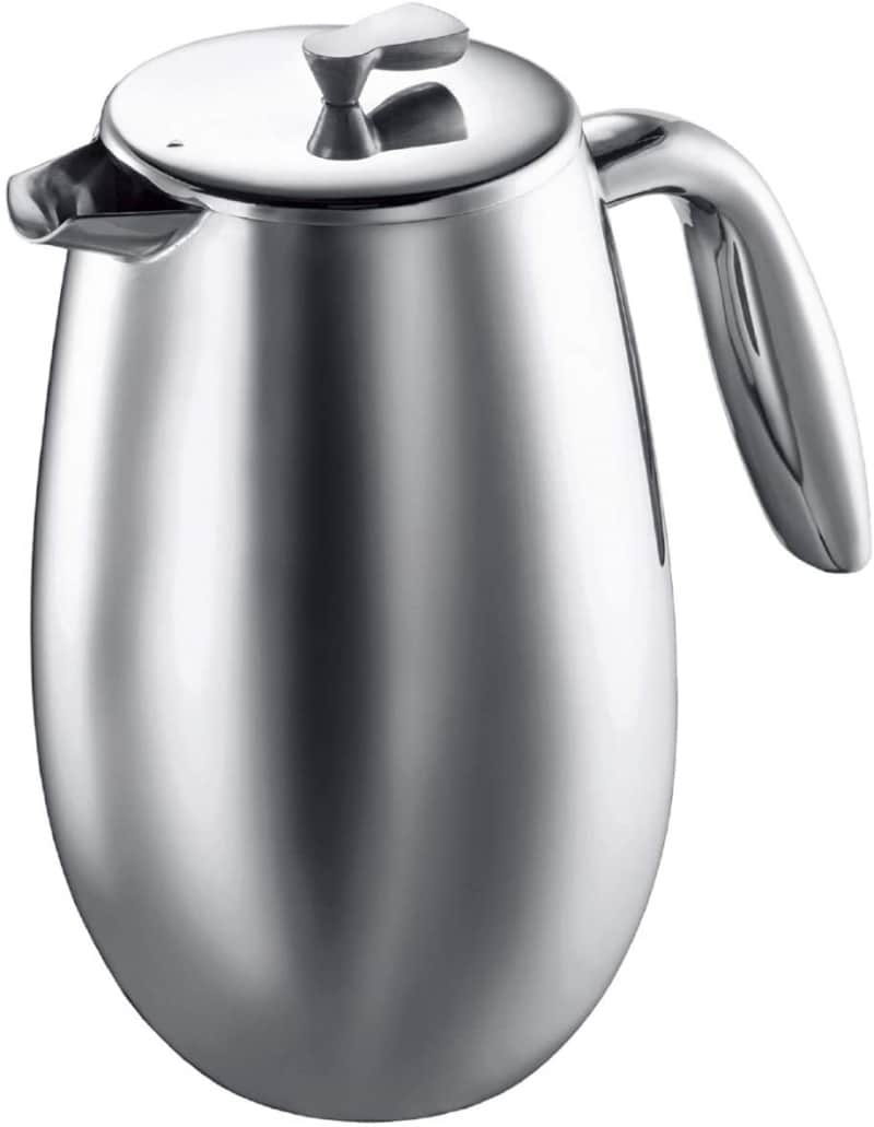 8. Bodum Columbia Thermal French Press Coffee Maker