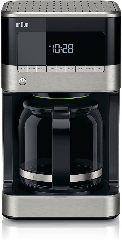 8. Braun Brew Sense Drip Coffee Maker