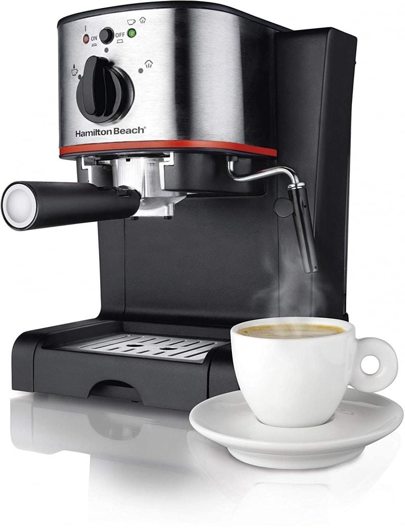 8. Hamilton Beach 40792 Espresso Machine