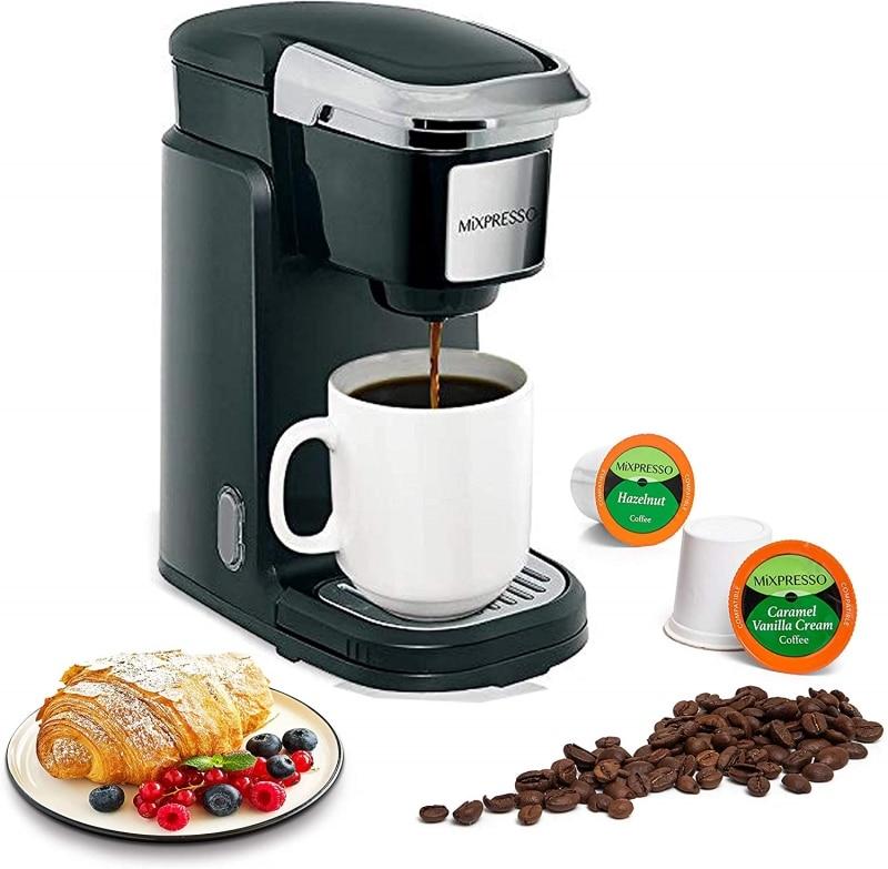 9. Mixpresso Single Serve Drip Coffee Maker