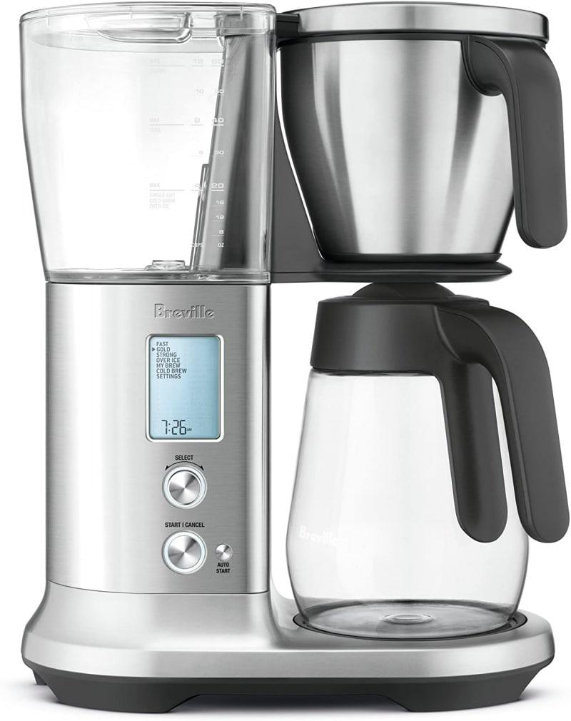 9. Breville Precision Brewer Glass Coffee Maker