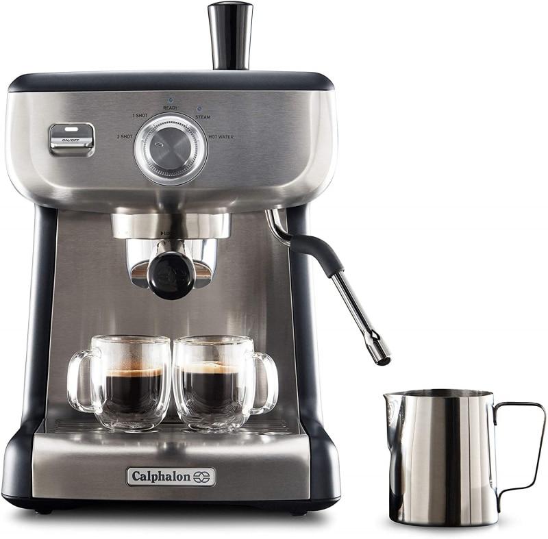9. Calphalon BVCLECMP1 Temp iQ Espresso Machine