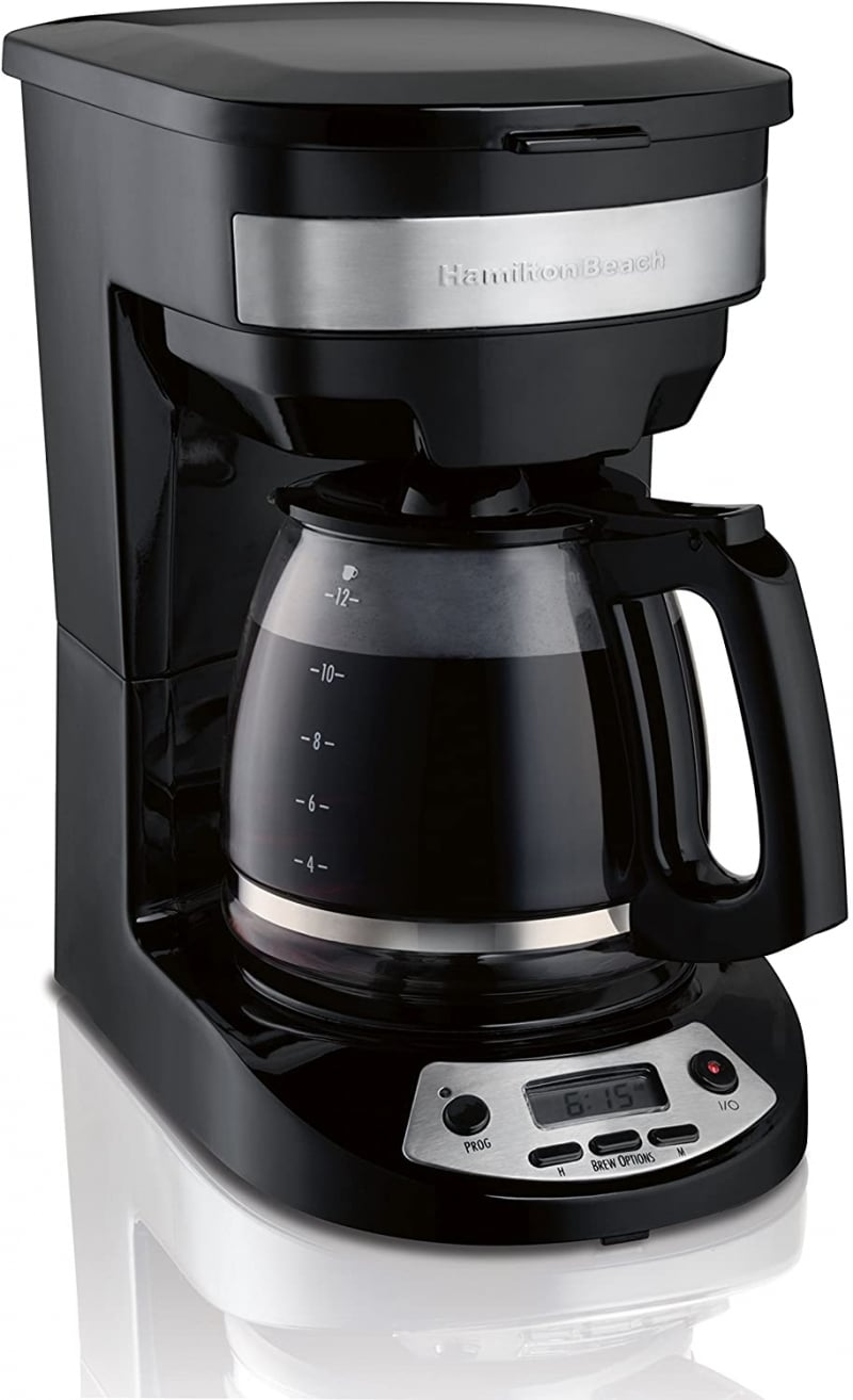 9. Hamilton Beach 12 Cup Programmable Coffee Maker