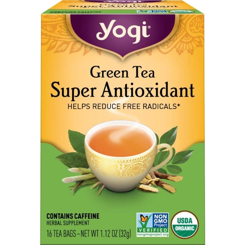 4. Yogi Tea - Green Tea Super Antioxidant