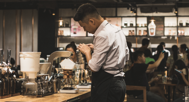 A Day In A Life of A Barista Intro