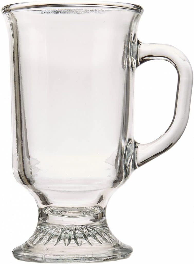 1. Anchor Hocking Irish Coffee Mugs