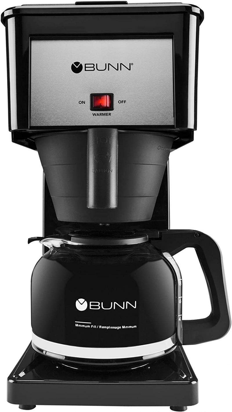 1. BUNN GRB Velocity Brew 10-Cup Home Coffee Brewer