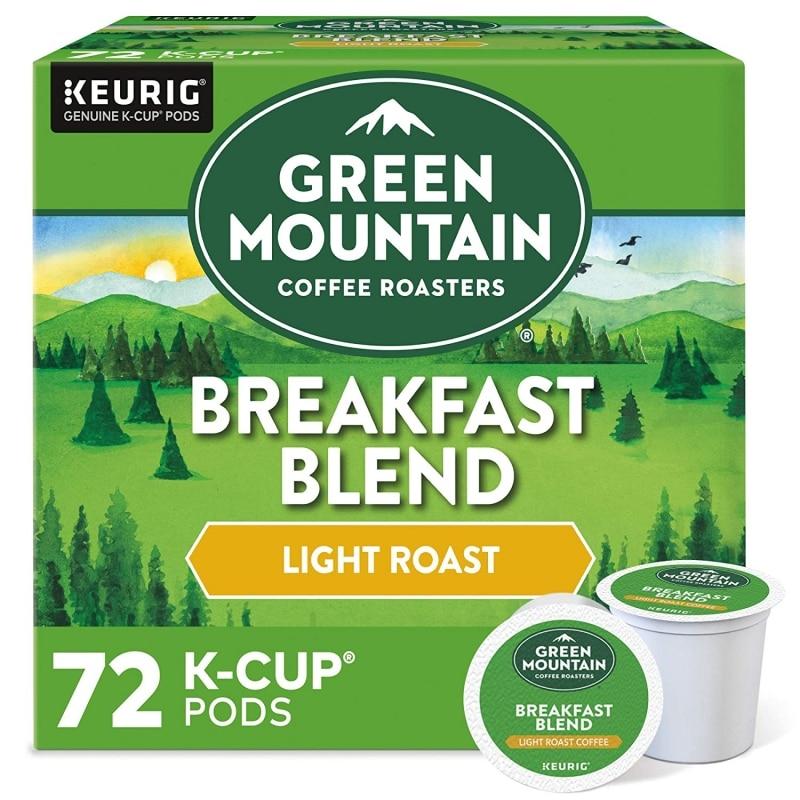 1. Green Mountain Coffee Roasters Breakfast Blend