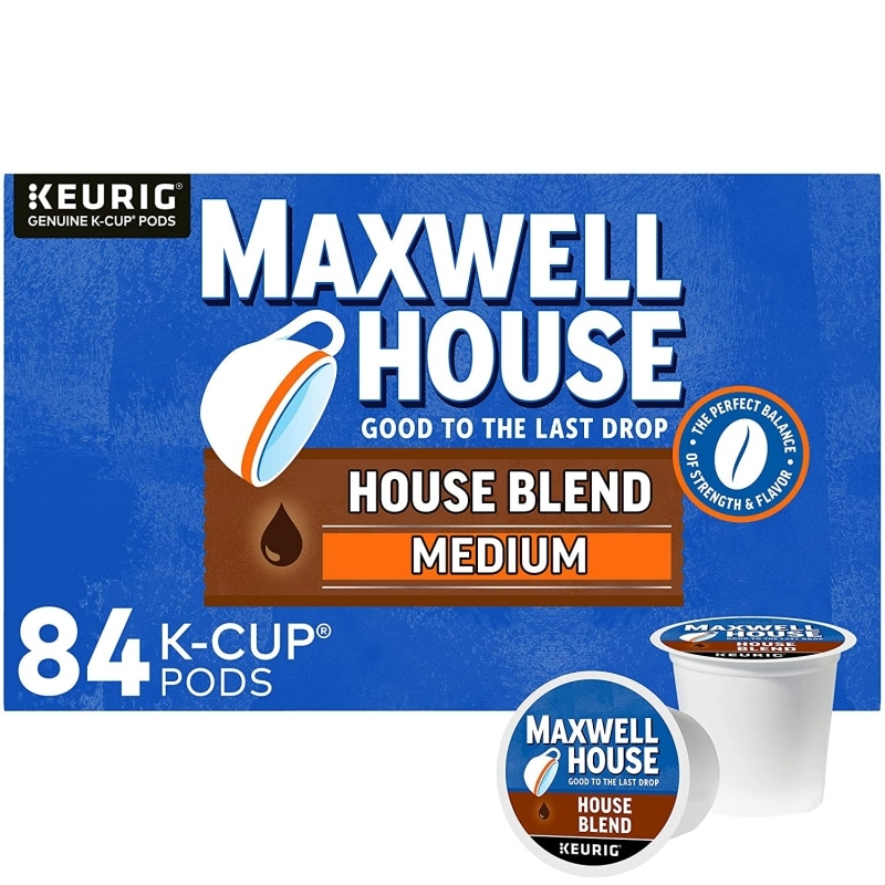 1. Maxwell House Blend Medium Roast