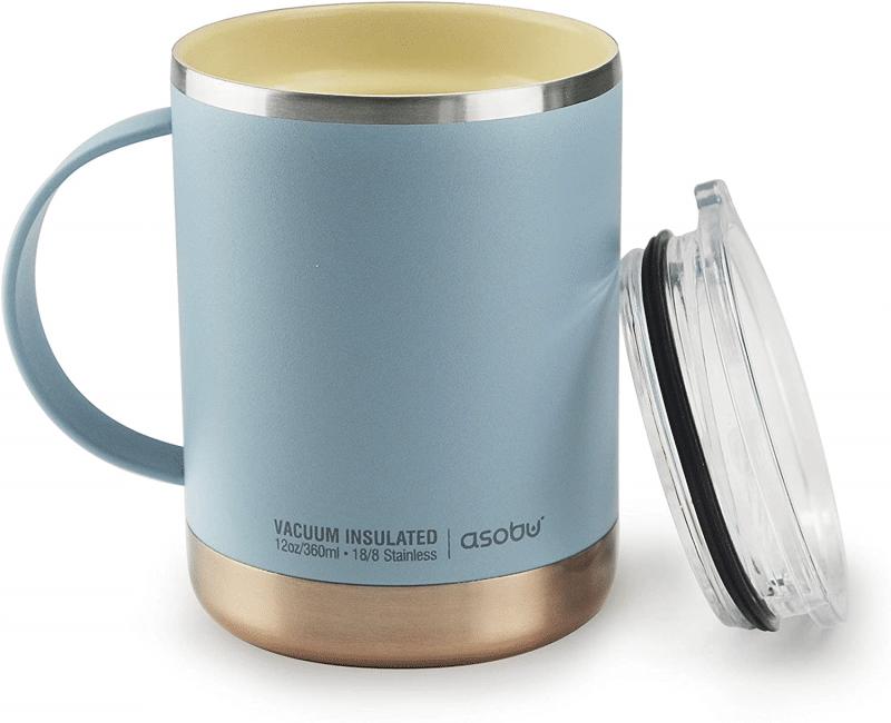 1. Asobu Ultimate Vacuum Insulated Mugs