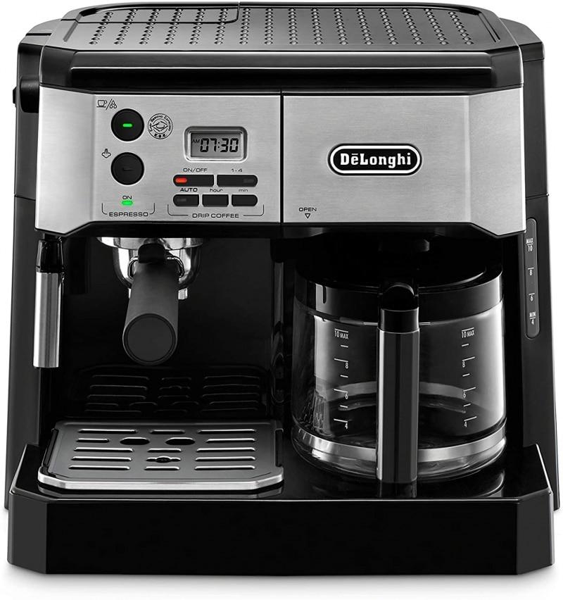 1. De'Longhi BCO430BM All-in-One Combination Maker & Espresso Machine