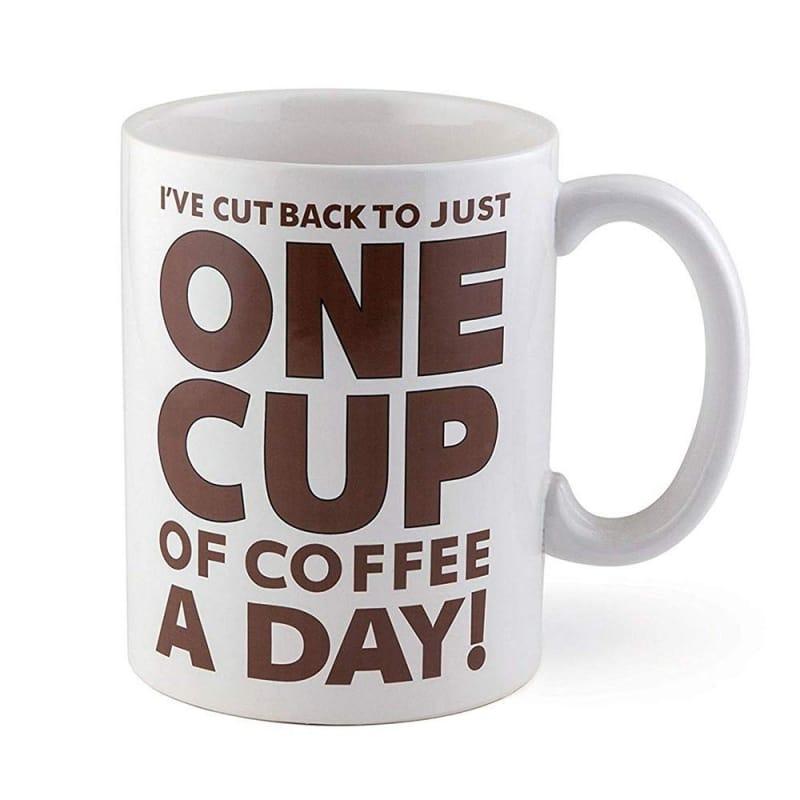 10. A Lotta Latte, Giant Mug