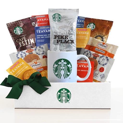 10. California Delicious Starbucks Daybreak Gourmet Coffee Gift Basket