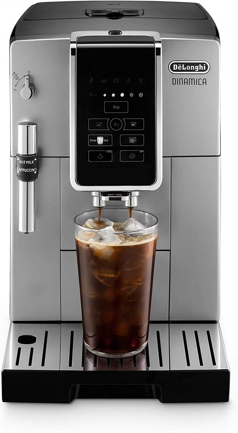 10. De'Longhi Dinamica ECAM Coffee and Espresso Machine