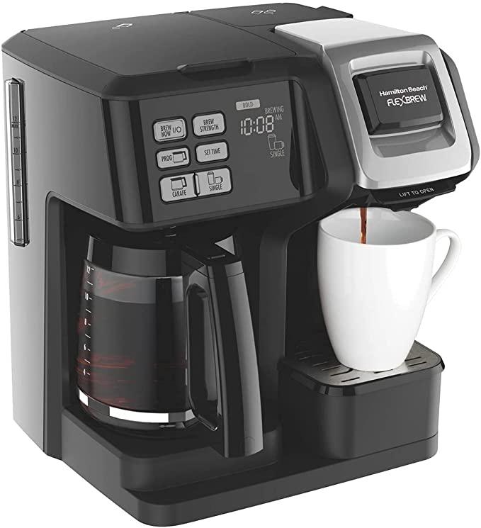 10. Hamilton Beach FlexBrew 49957 2-Way Coffee Maker