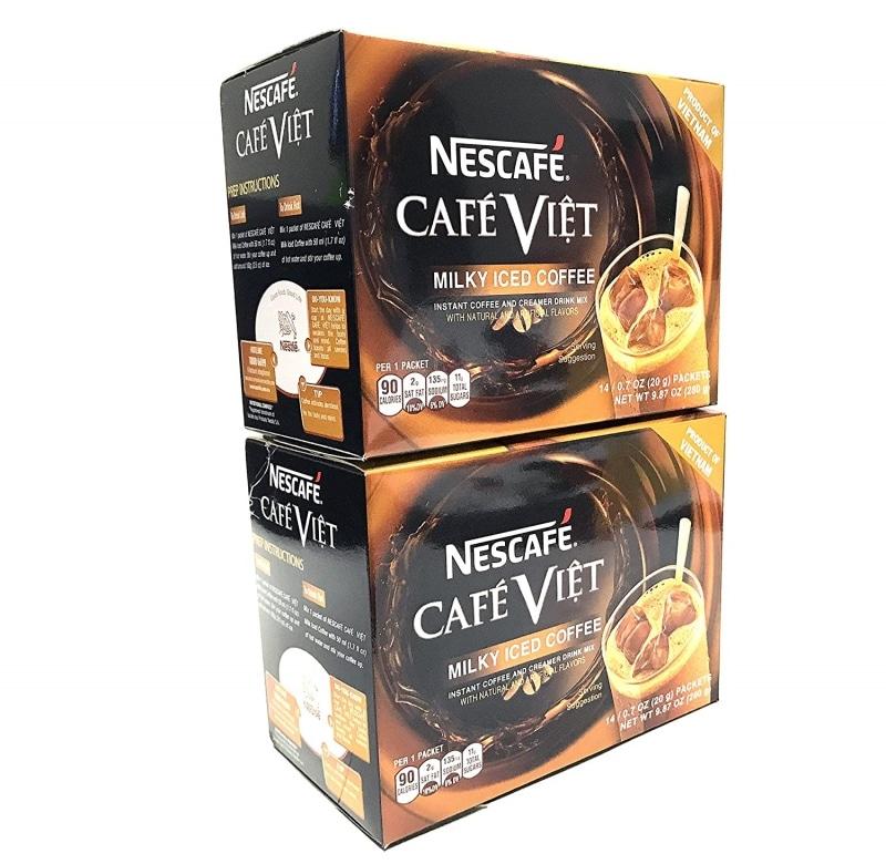 10. Nescafe Cafe Viet Milky Iced Coffee