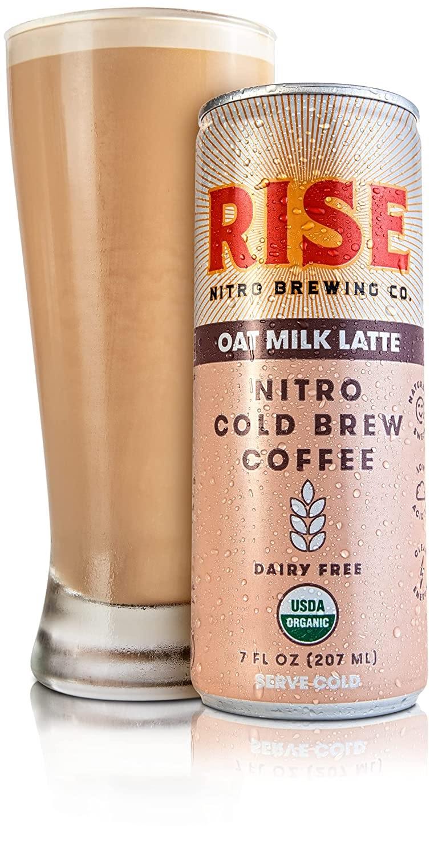 10. Rise Brewing Co. Oat Milk Nitro Cold Brew Latte