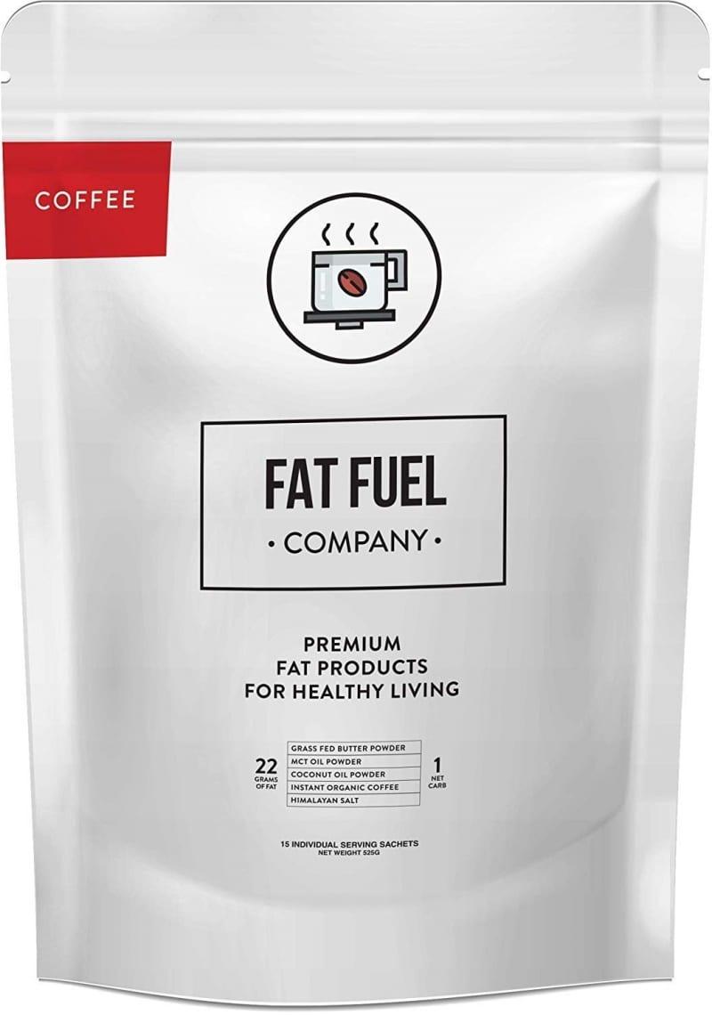 10. The Fat Fuel Organic Instant Keto Coffee