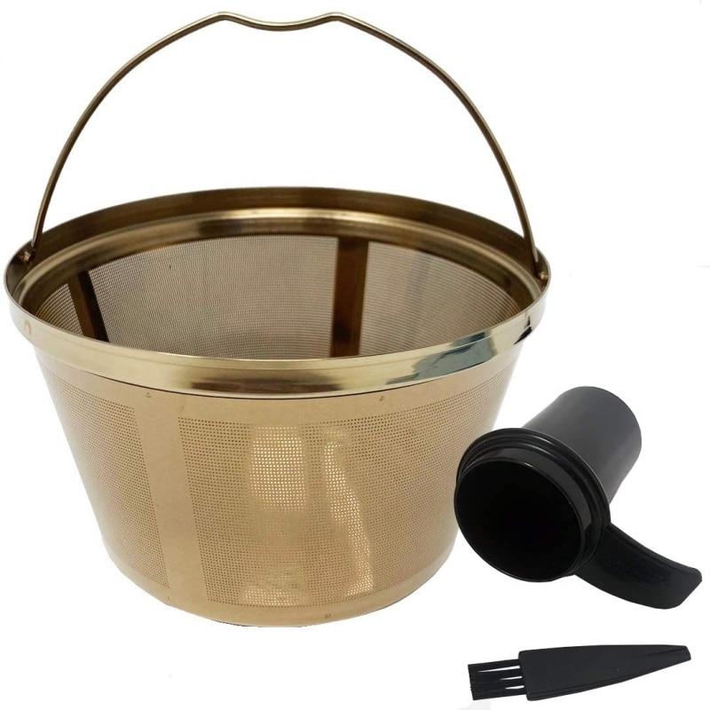 10.GOLDTONE Stainless Coffee Filter