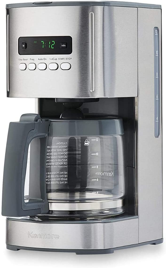 10. Kenmore 00840706 12-Cup Programmable Aroma Control Coffee Maker