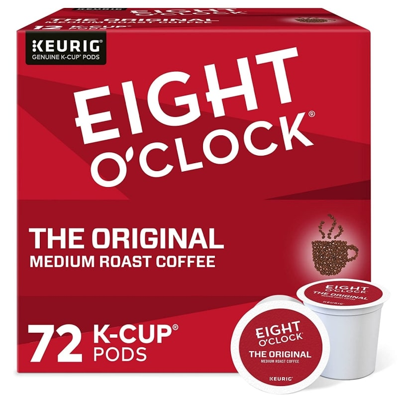 11. Eight O'Clock Medium Roast Coffee Pods