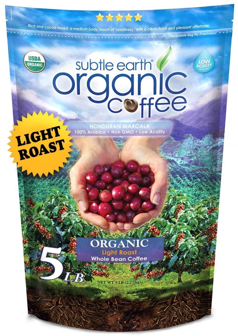 11. Subtle Earth Organic Coffee