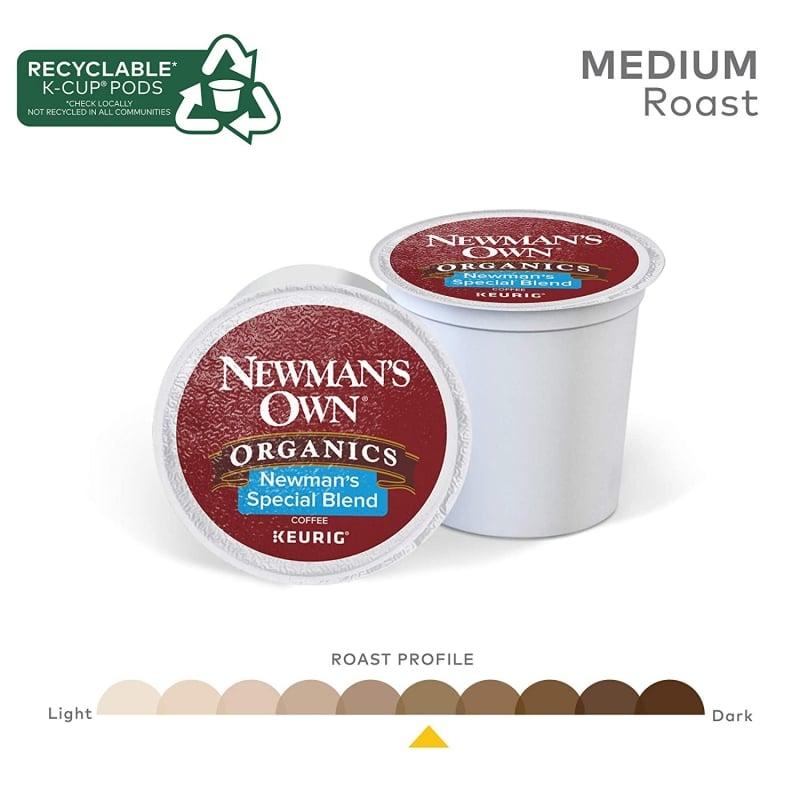 12. Newman's Own Organics Special Blend