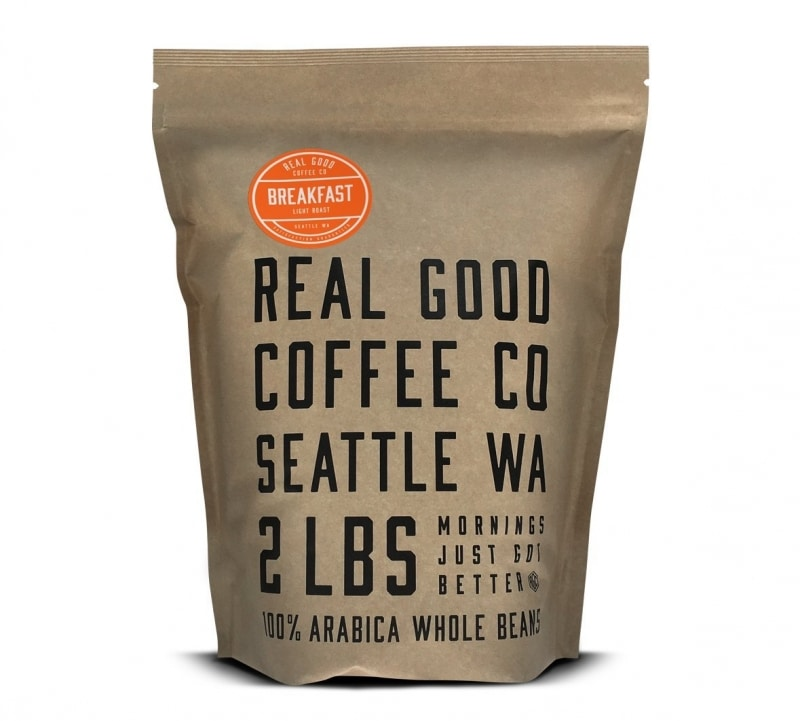 12. Real Good Coffee Co Whole Bean Coffee