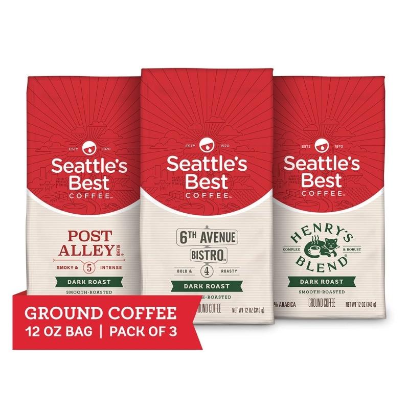 13. Seattle's Best Coffee Dark Roast