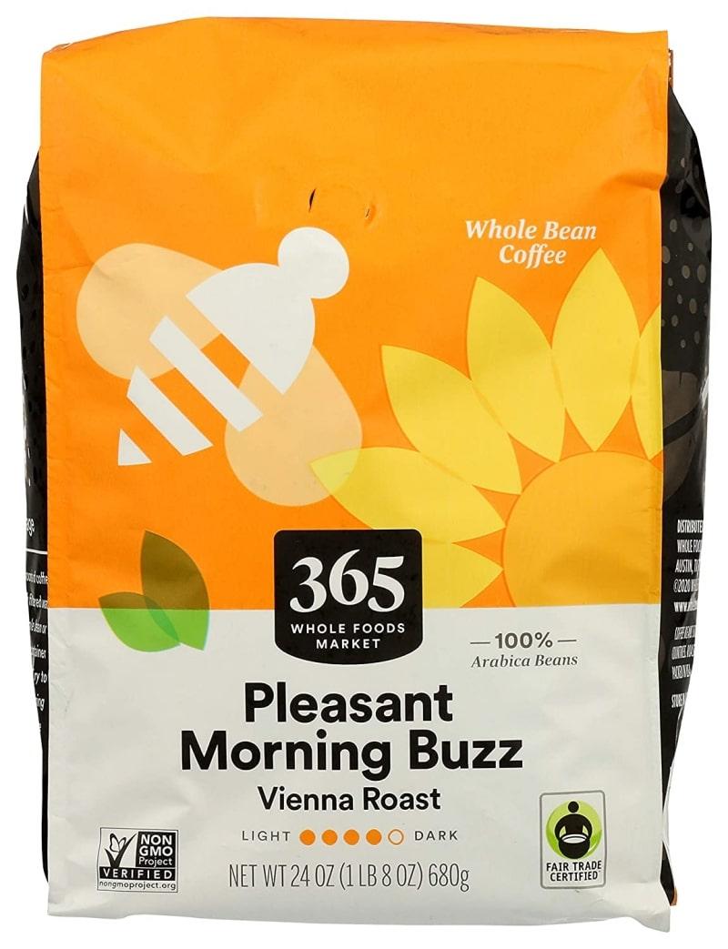 14. 365 Coffee Pleasant Morning Buzz Whole Bean
