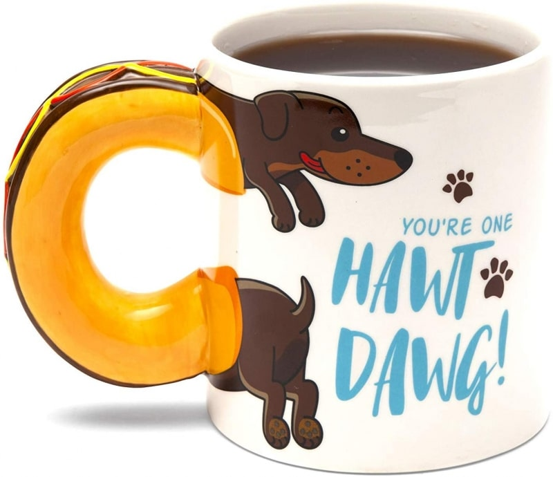 15. BigMouth Inc, You're one Hawt Dawg Coffee Mug
