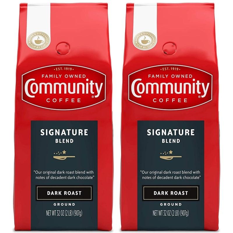 14. Community Coffee Signature Blend Dark Roast