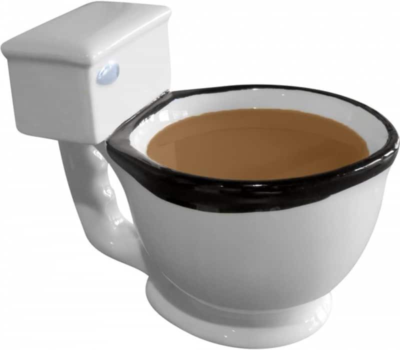 13. Evelots Toilet Coffee Mug