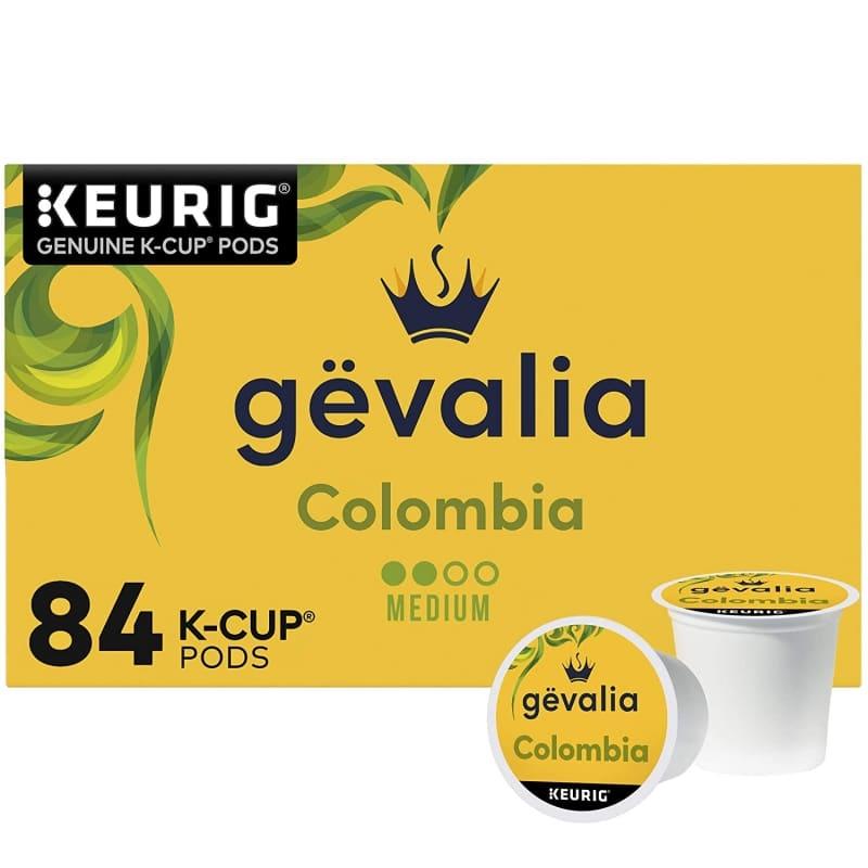 16. Gevalia Colombia Medium Roast K-Cup Pods
