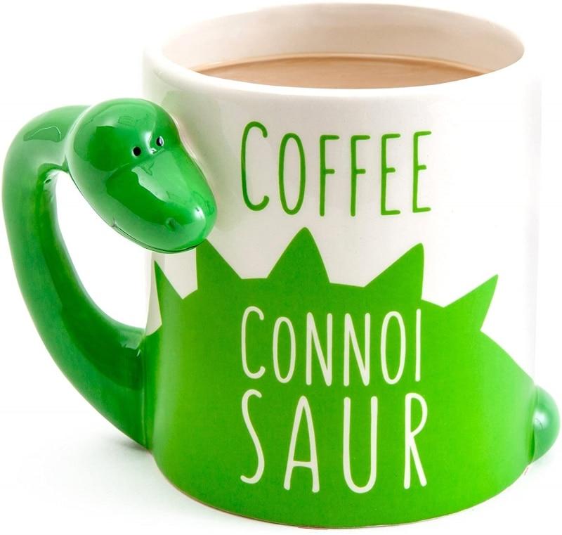 12. BigMouth Inc. Original Dinosaur Coffee Mug