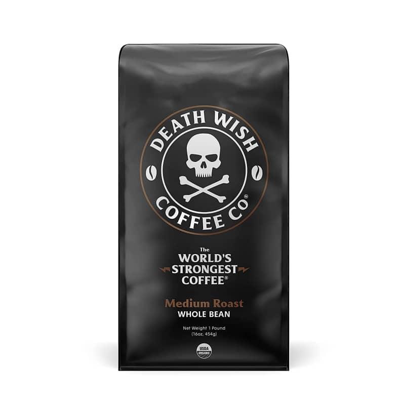 17. Death Wish Coffee Company's Whole Bean Coffee