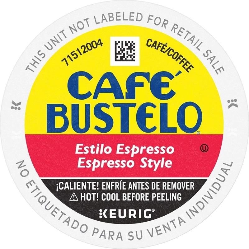 18. Café Bustelo Espresso Style Dark Roast Coffee