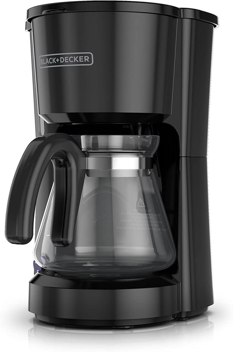 2. BLACK+DECKER 5-Cup Coffeemaker