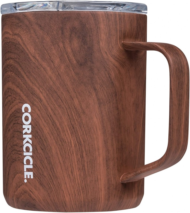 2. Corkcicle Coffee Mugs - Triple-Insulated Stainless Steel Cup with Handle