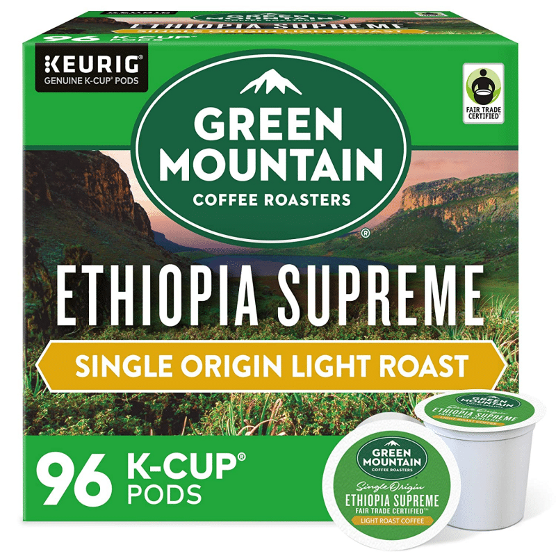 2. Green Mountain Coffee Roasters Ethiopia Supreme