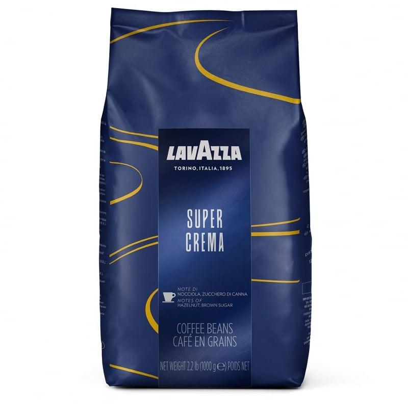 2. Lavazza Super Crema Whole Bean Coffee Blend