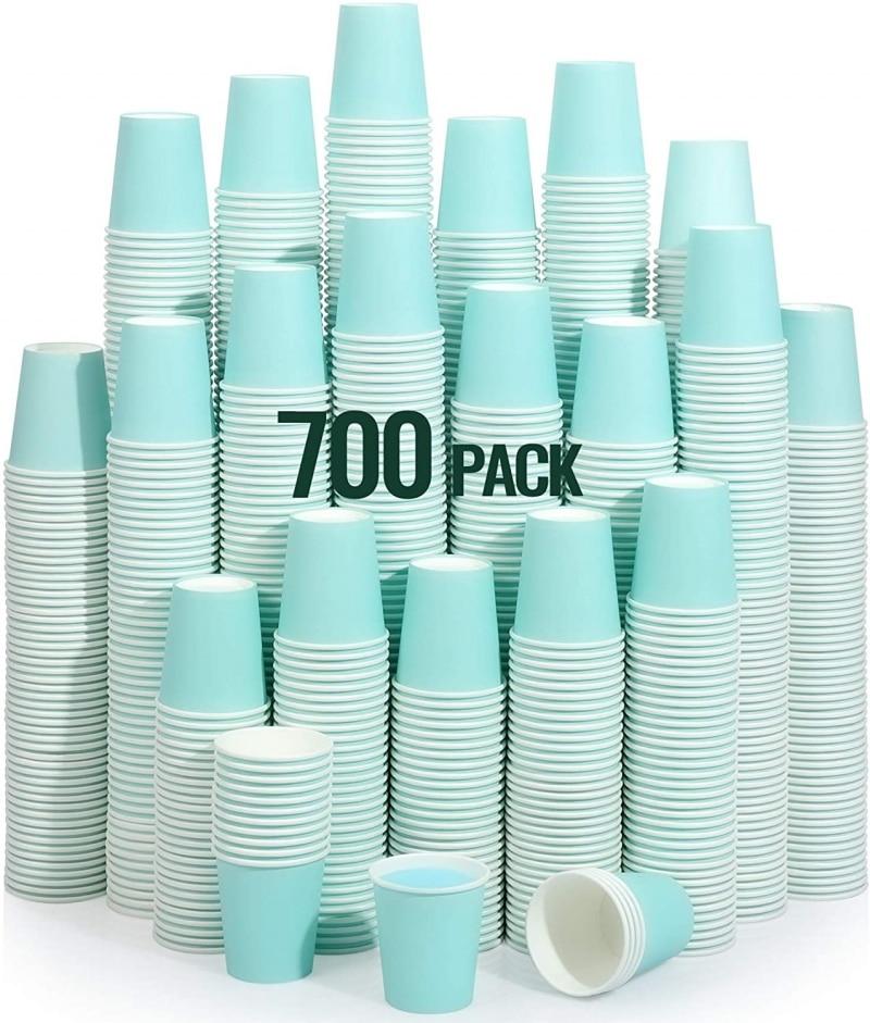 2. Sky Blue Paper Cups