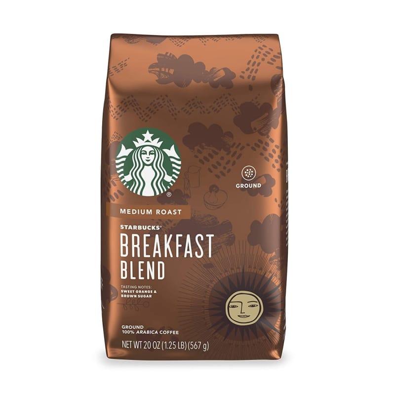 2. Starbucks Coffee — Breakfast Blend