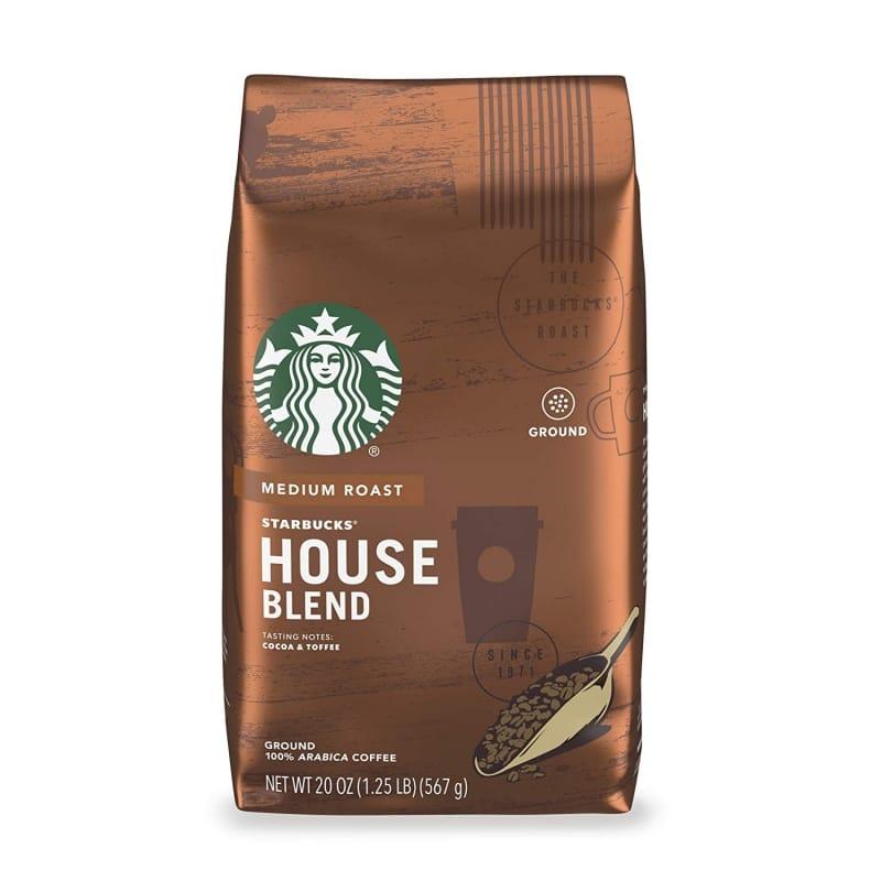 2. Starbucks Medium Roast Ground Coffee