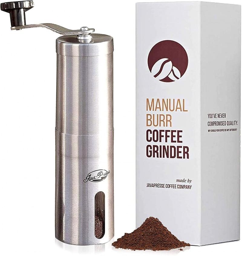 2. JavaPresse Manual Coffee Grinder