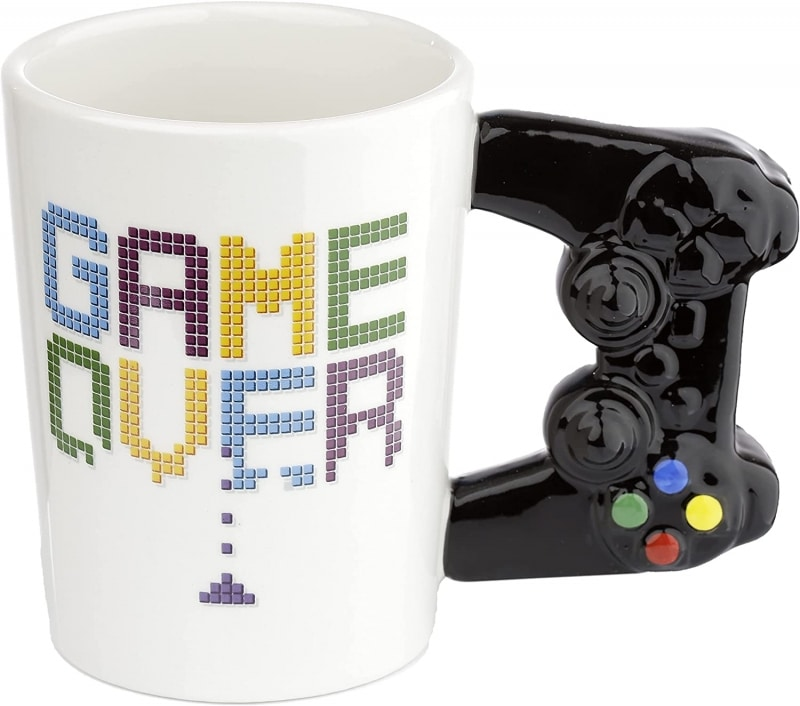 8. Puckator Game Controller Handle Mug