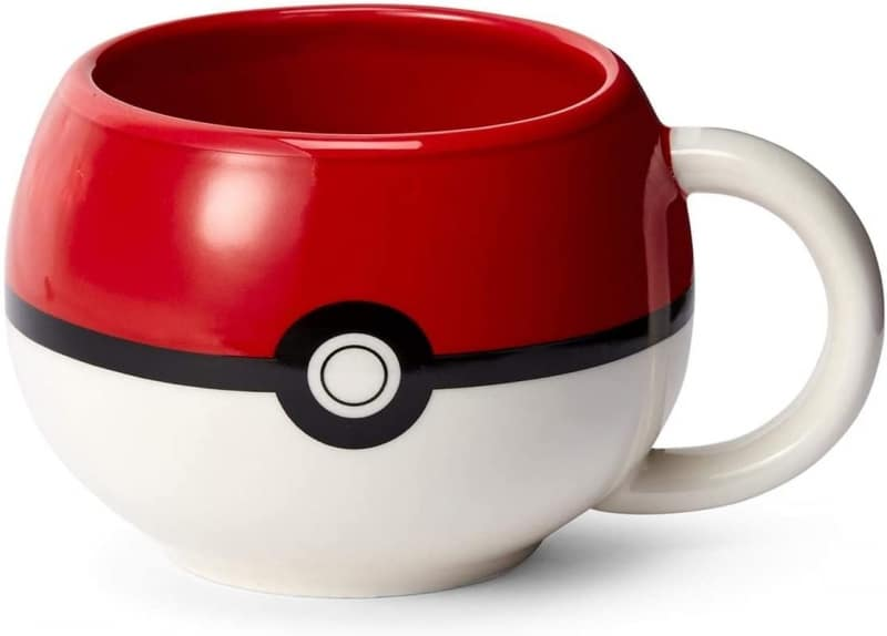 7. Nintendo Sculpted Ceramic Mug